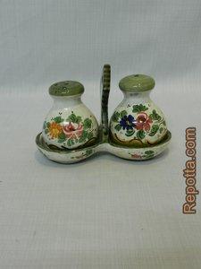 keramiek peper en zout set uit Italië